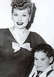 Lucille Ball with young Gregg Oppenheimer