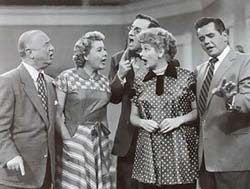Cast from I Love Lucy